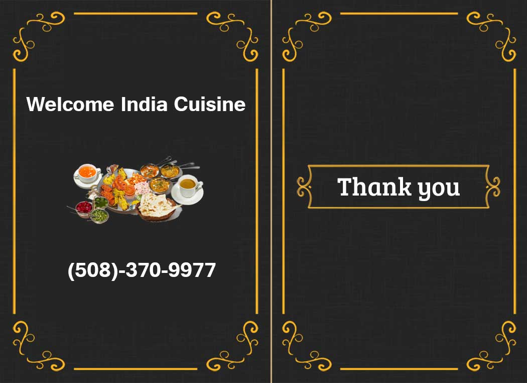 Welcome India Cuisine