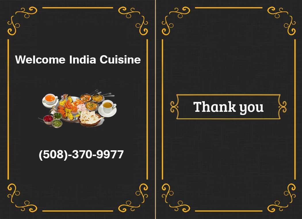 Welcome India Cuisine